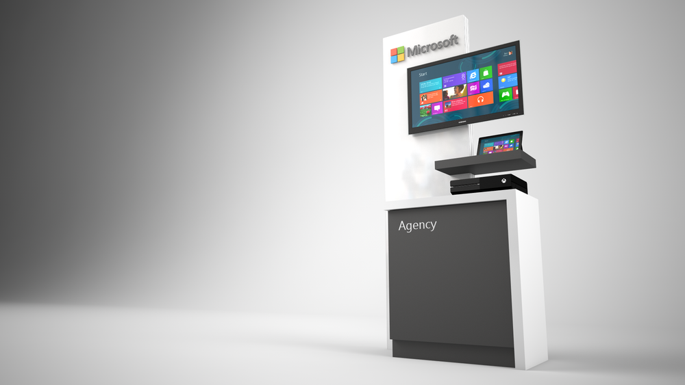 Microsoft Kiosk Exhibit Solutions Inc