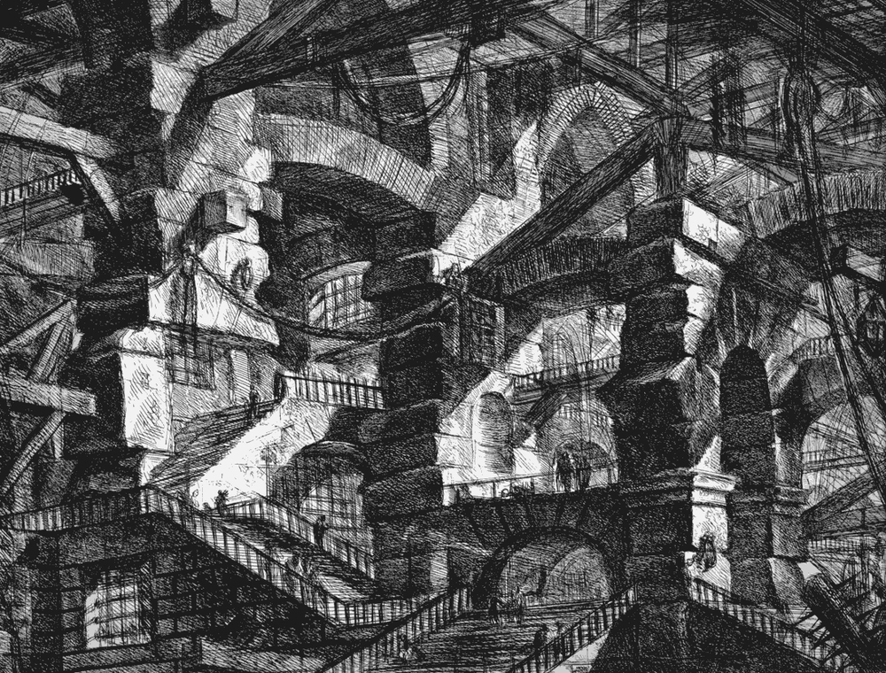 From: The Prison Series, Giovanni Piranesi (1761)
