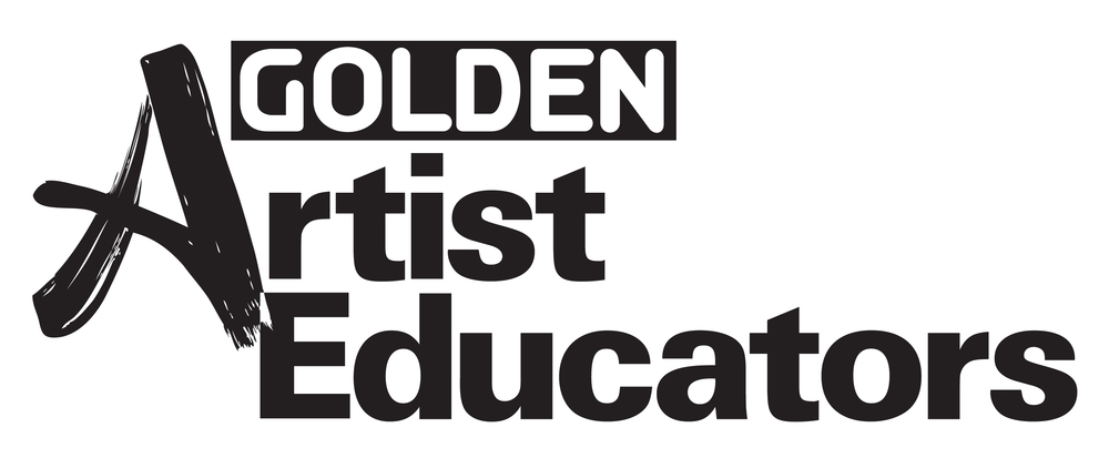 Golden Artist Educators Logo_blk