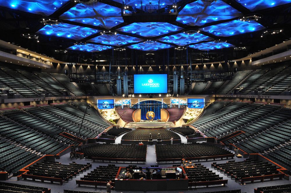 Welcome to Lakewood Church...