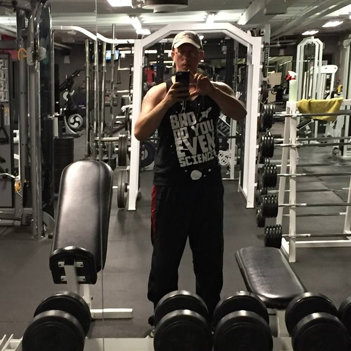 Had a great workout today. Got my kickass shirt from  Absence of Clothing  on. My arms were so tired from my workout that I couldn't hold the camera steady with one arm. It's nice to finally feel like I'm having good workouts again.  -Cory Johnston