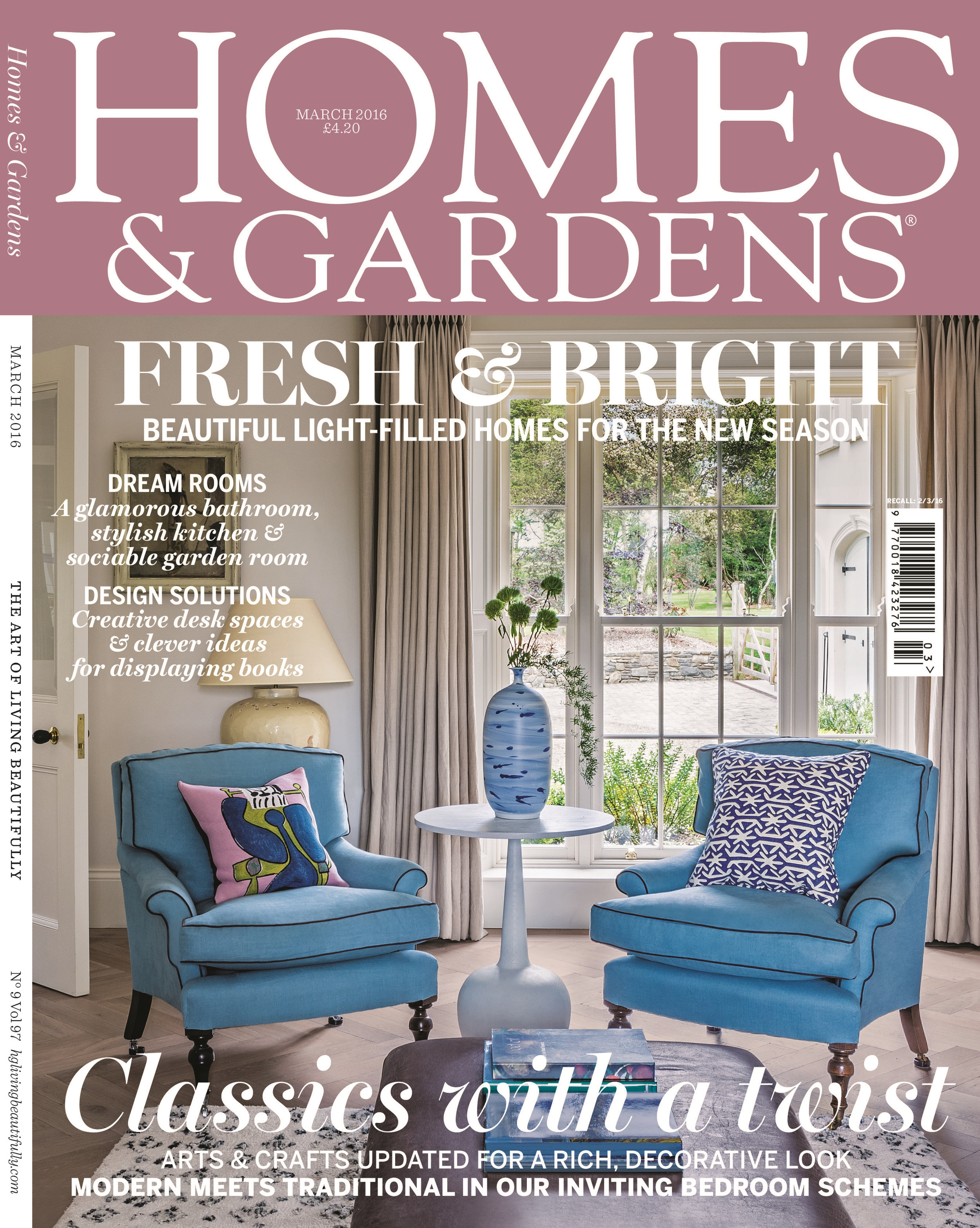 Homes Gardens March 2016