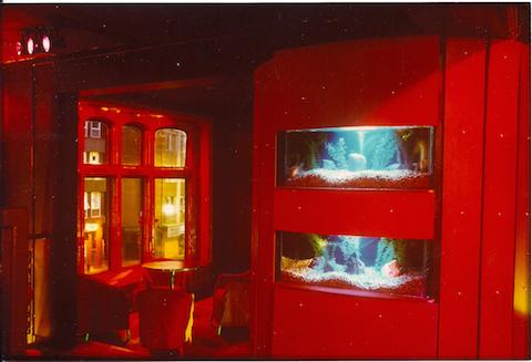 'fish tank corner' on the way to Room 3.