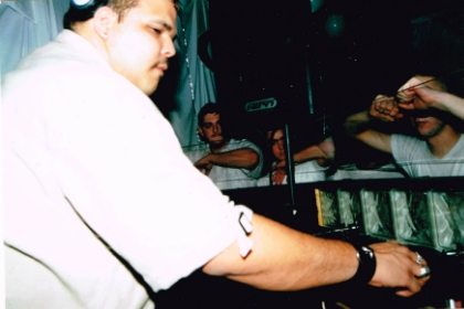 DJ Sneak at The Mint Club 1999
