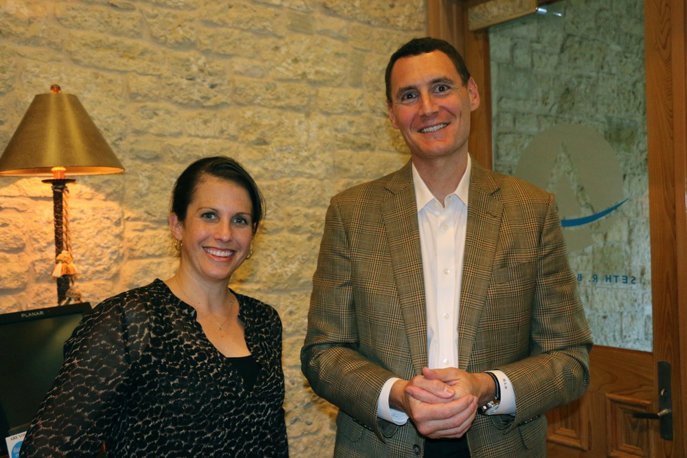 Drs. Alexis Tessler and Gerard DeSantis