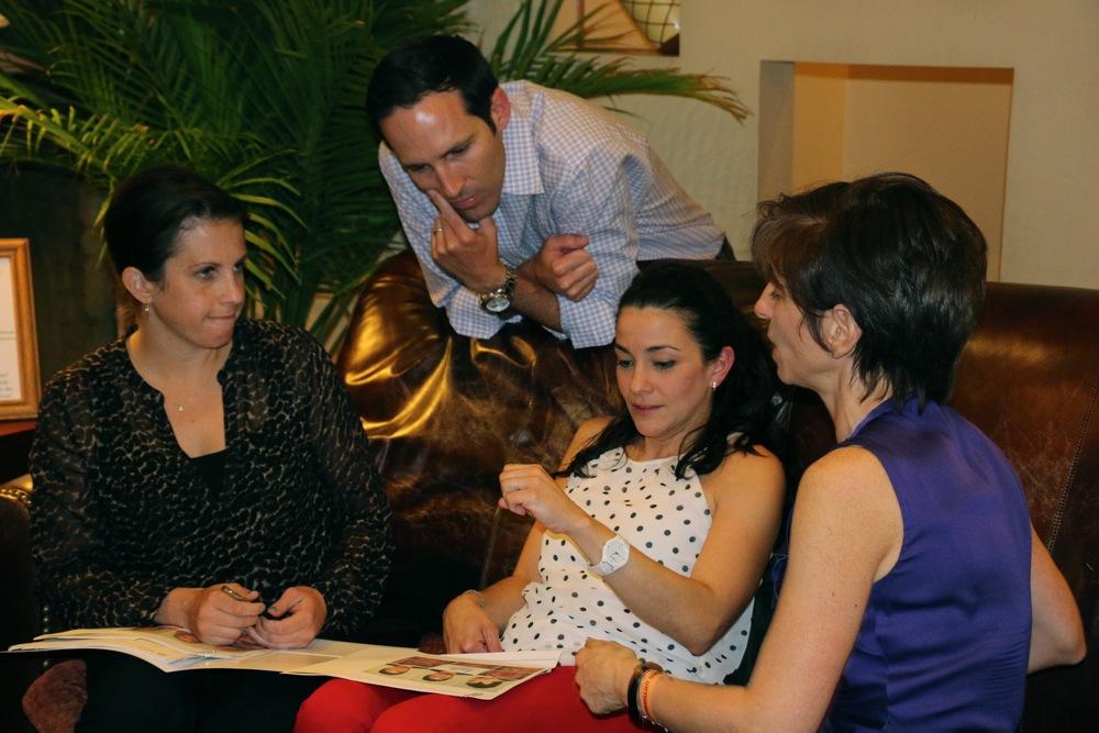 Drs. Tessler, Briggs, Gonzalez, and Goldenberg
