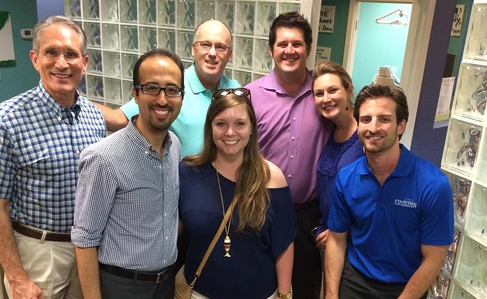 Drs. David Adame, Kaveh Najbfard, Clark Colville, Jarod Oliver, Cele Oliver, and Julio de la Fuente