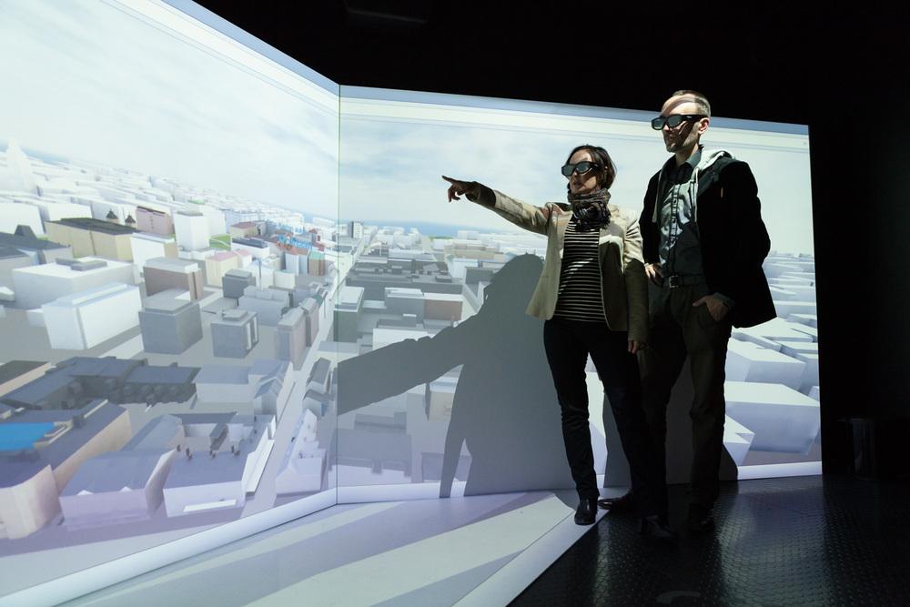 Tiina Hynninen, Adminotech and Mikko Heikkinen, UKI Arkkitehdit. Shot for Oulu New Tech.