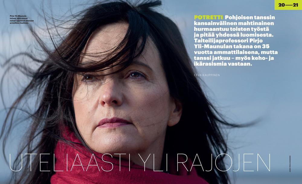 Pirjo Yli-Maunula for Teatteri&Tanssi+Sirkus.