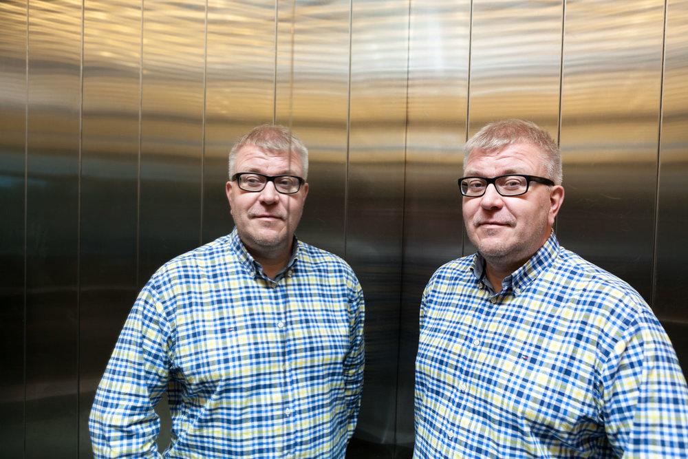 Olli Lukkari, BusinessOulu, shot for Oulu New Tech.