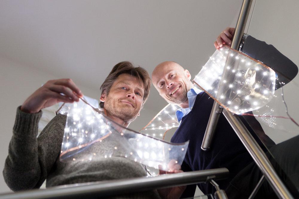 Pekka Makkonen and Atte Varsta, Flexbright, shot for Oulu New Tech.