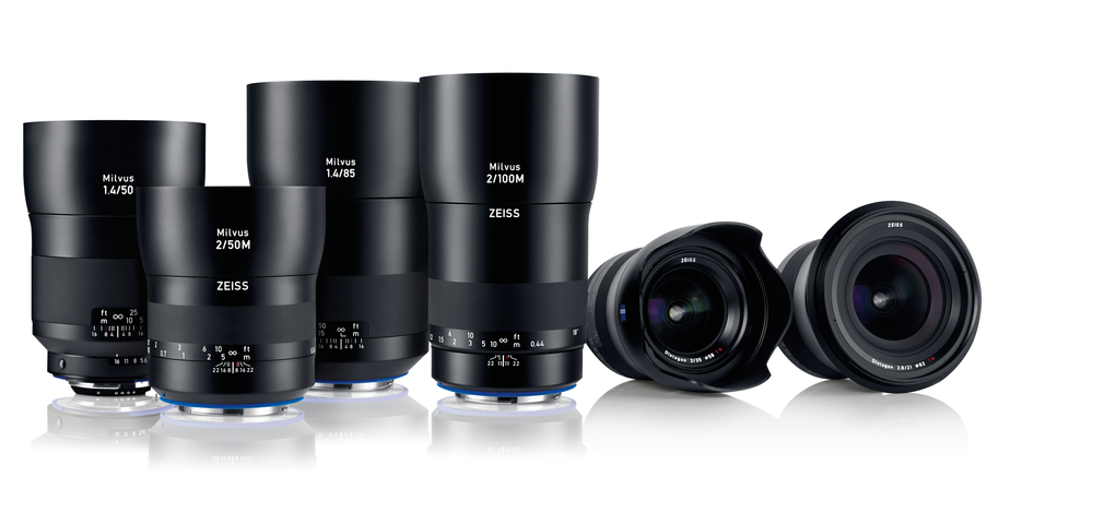 The new Milvus lens family from Zeiss.