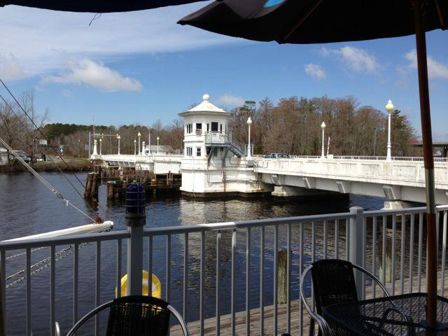 View from The Riverside Grill - new drawbridge on the Pocomoke River.jpg