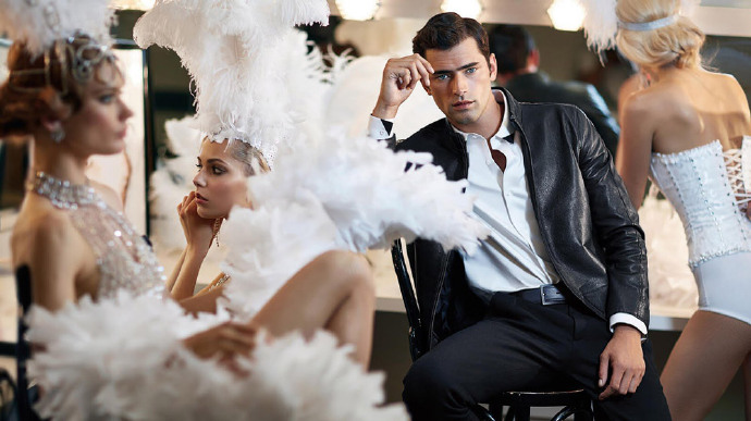 Producer  Sarah West   Model  Sean O'Pry