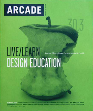 ARCADE Magazine    Summer 2012  Nader Tehrani interview