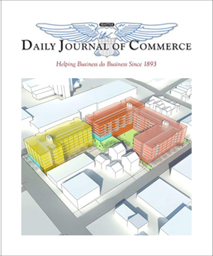 Daily Journal of Commerce  August 2015    First Central Station