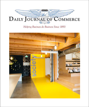Daily Journal of Commerce April 2013 Society Consulting
