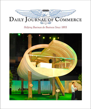 Daily Journal of Commerce November 2009 Manhattan Tree House Pavilion