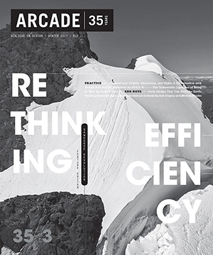 ARCADE Magazine    Winter 2018  Steven Holl & Ed Weinstein Interview
