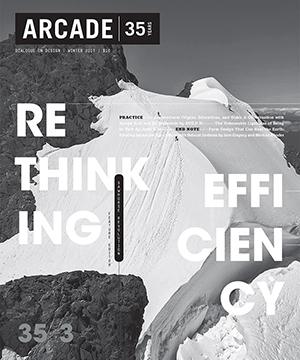 ARCADE Magazine 35.3    Winter 2017  Steven Holl & Ed Weinstein Interview