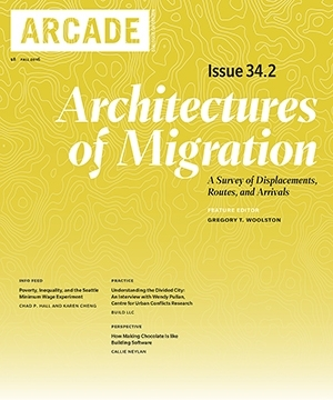 ARCADE  Magazine   Fall 2016  Wendy Pullan Interview