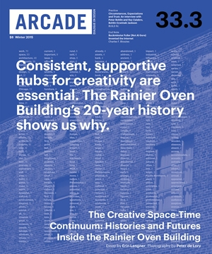 ARCADE Magazine    Winter 2015  Peter Bohlin & Ray Calabro Interview
