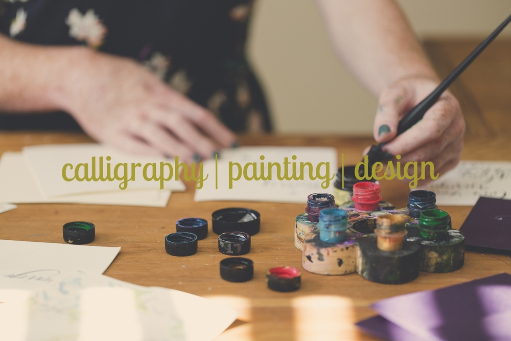 calligraphy | pAINTING | Design