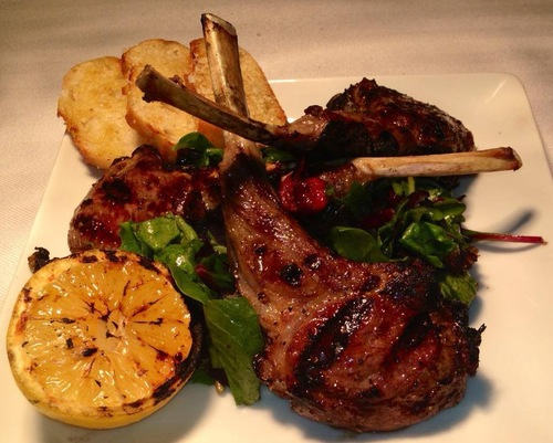 Signature Dish...Lollipop Lamb Chops!