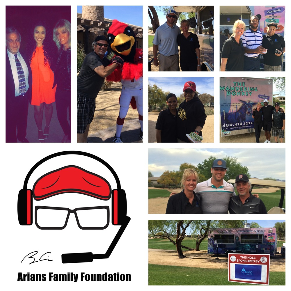 ARIANS FAMILY FOUNDATION CHARITY AT KIERLAND GOLF COURSE