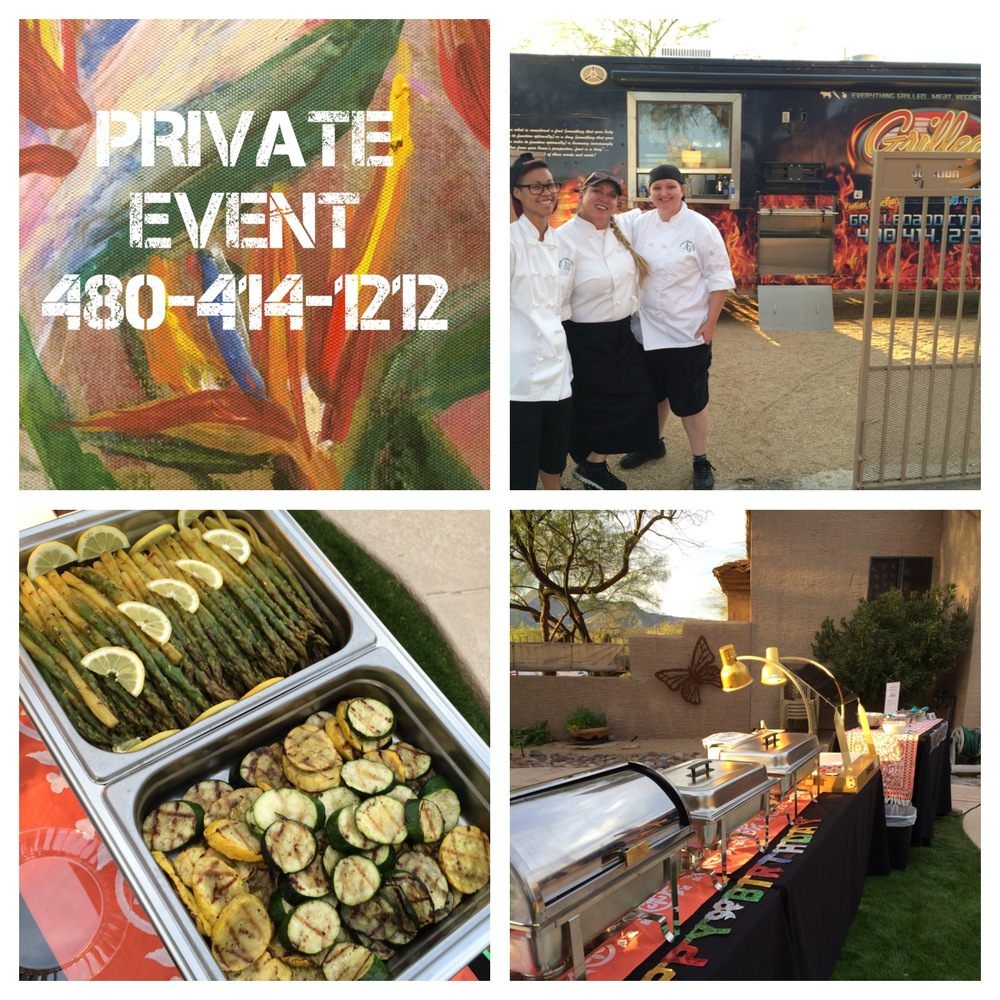 SUPER FUN SURPRISE BIRTHDAY PARTY!  CATERING AT IT'S BEST!