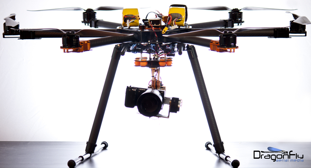 Dragonfly Aerial Media- Hexacopter