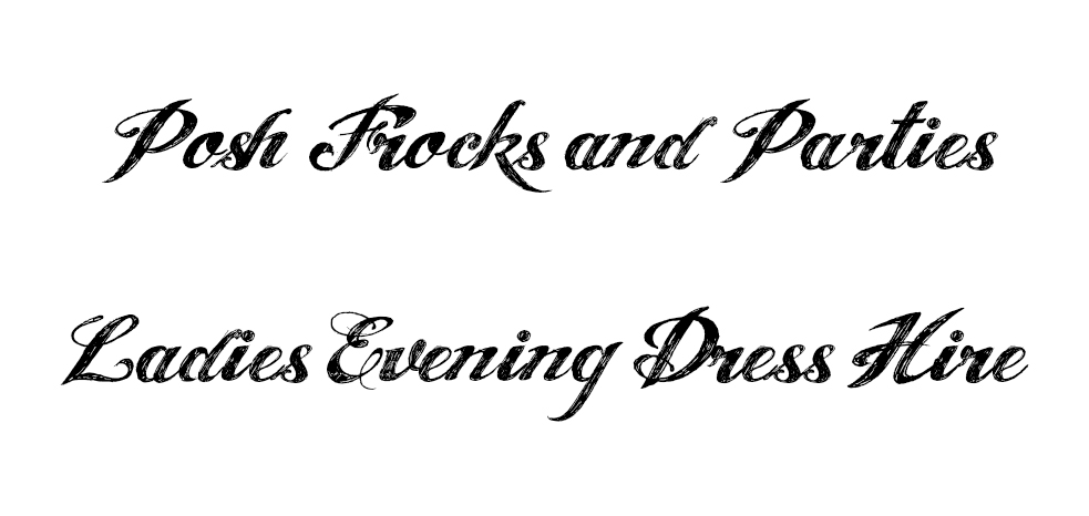 Posh Frocks and Parties Vintage & Classic Evening Gowns