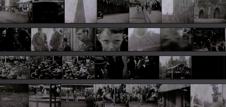 Examples of some of the footage