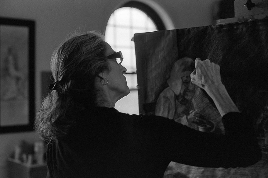 Cheryl painting