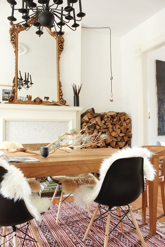 sheepskins on dining chairs.jpg