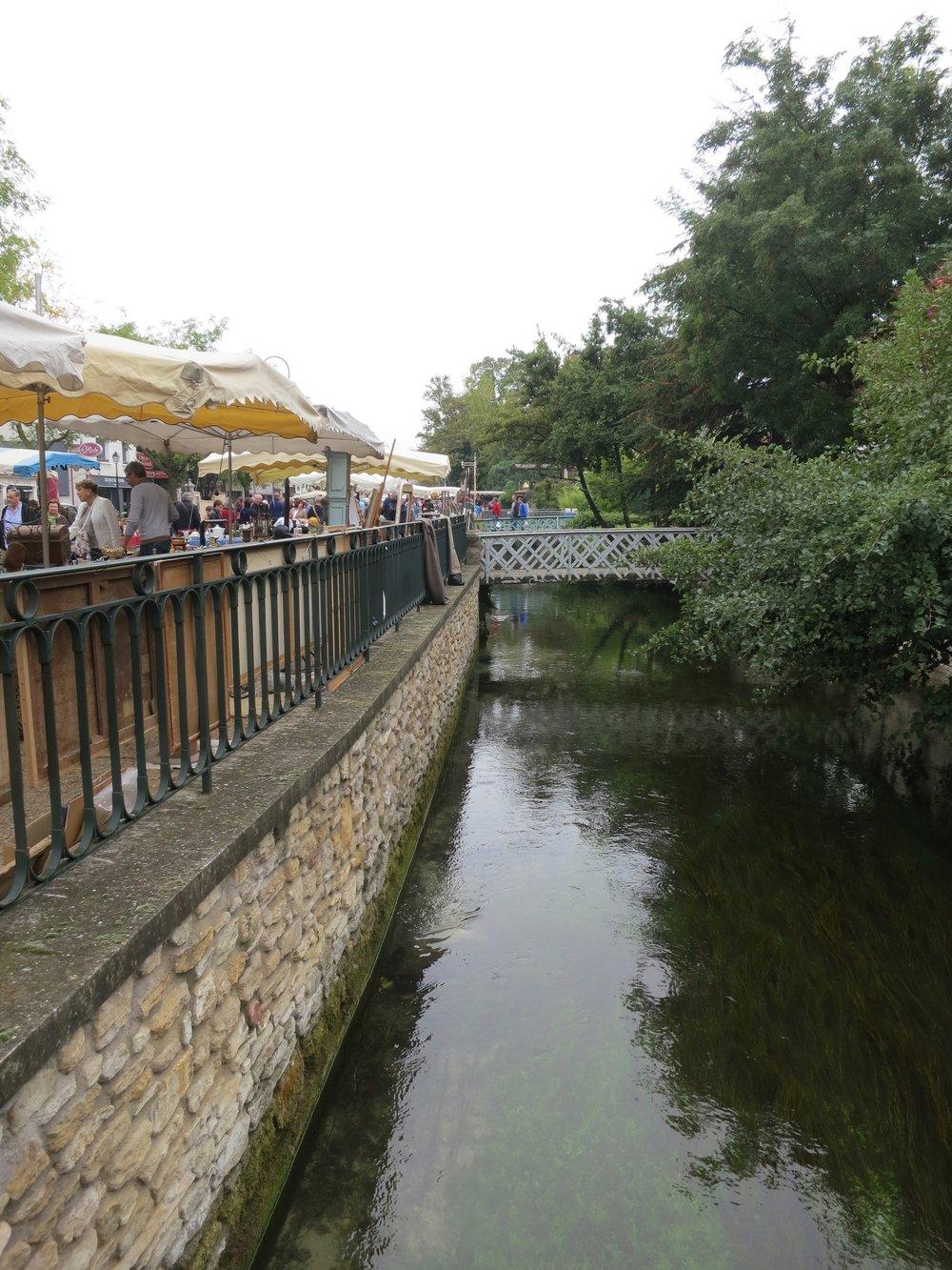 Market day L'Isle sur la Sorgue