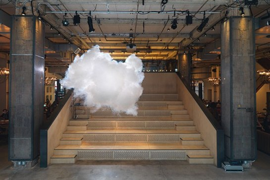 An indoor cloud!