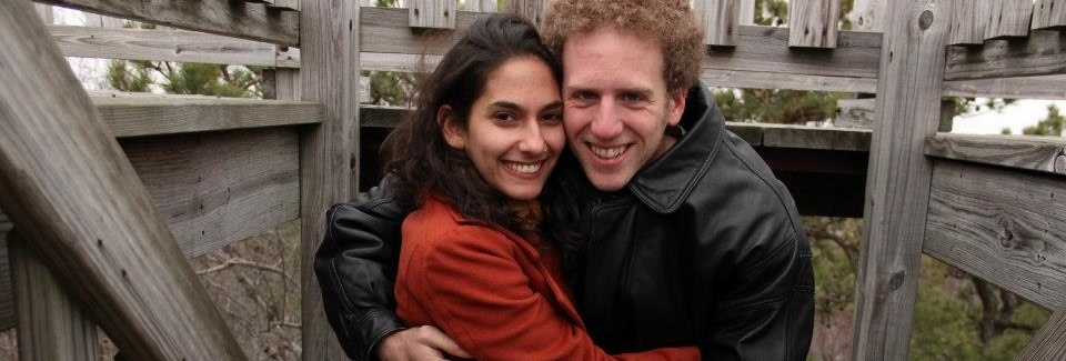 Founders of  Just Married Studios , Jeff Prentky and Rachel Weinberg