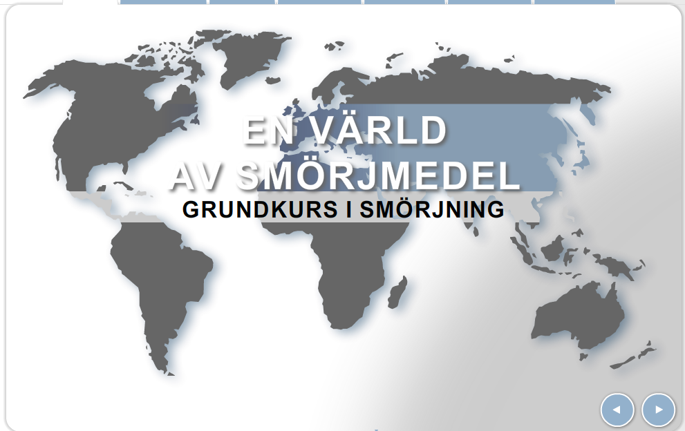 Statoil – utbildning om smörjmedel
