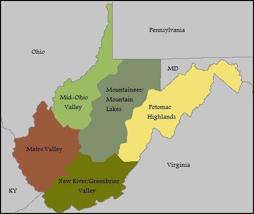 virginia regions