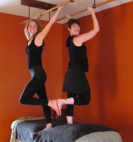 Jenny Spears & I: Ashi massage sisters!