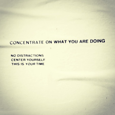 My new t-shirt motto.