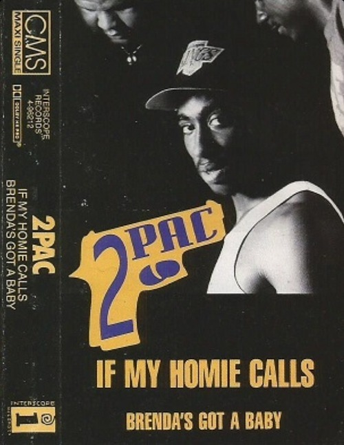 Tupac Tuesday! Cassette Single Love.