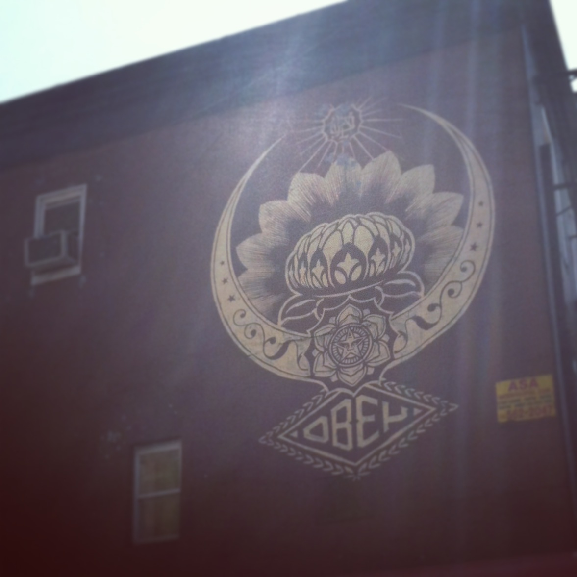 OBEY. LES. NYC. EYEPISSGLITTER.