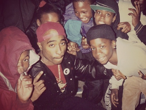 Tupac Tuesday! Love the Kids!