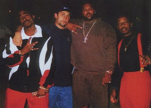 Tupac Tuesday!  Jogging Suits with Suge & Hammertime!    johngotty :      Death Row