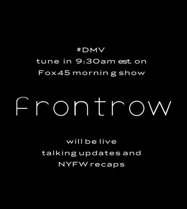 Love this line! DMV Tune in!    frontrows :     #WakeUpToFrontrow #frontrow #fox45