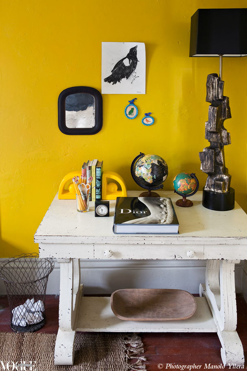 Organized Brightness:)   via  Vogue Living