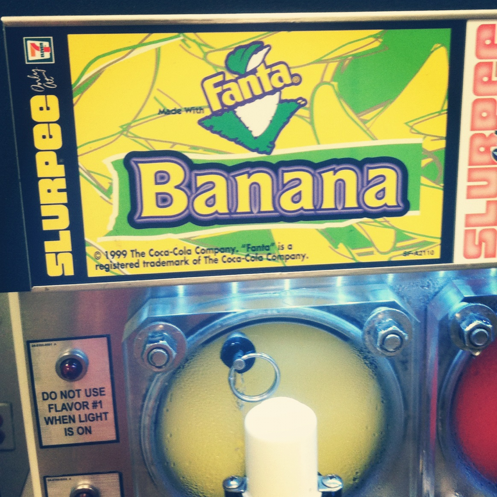 Favorite Things| Banana Slurpees. #106thesearch @106andpark
