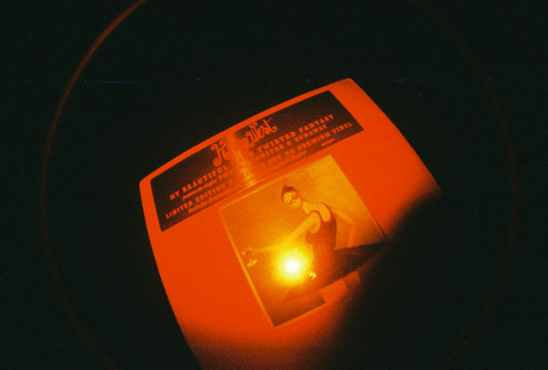Red Scale. Fish Eye. Yeezy Vinyl.
